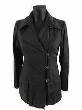 NOA NOA Woman's Black Button Cotton Coat Size XS