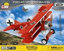 COBI Fokker Dr1 Red Baron / 2974 /175 blocks WWI Small Army German fighter plane