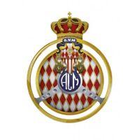 Automobile club Monaco logo autocollant plaque sticker