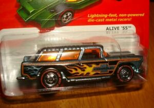 Hot Wheels Hot Ones Alive 1955 Station Wagon Chevy Nomad *Chase*