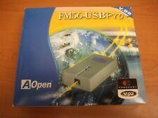 New  AOpen FM56-USB Pro External USM Modem V.92