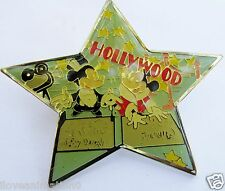 Disney Hollywood Walk of Fame Star Mickey Mouse & Minnie Mouse  Pin **