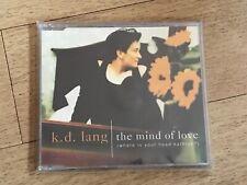 KD LANG THE MIND OF LOVE CD SINGLE K D LANG DIFFERENT VERSION