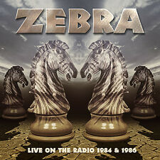 ZEBRA - Live On The Radio 1984 & 1986 - 2CD - 700029
