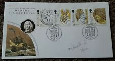1993 MARINE TIMEKEEPERS FDC WITH WATCHMAKERS GUILD ESSEX SHS