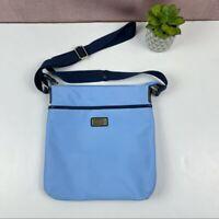 Tommy Hilfiger Solid Light Blue Crossbody Purse Bag Women