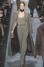 MICHAEL KORS COLLECTION Light Brown Cashmere Knit Dress Jumpsuit  L