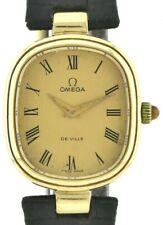 Omega De Ville Vintage Damenuhr 333/8k massiv Goldgehäuse Handaufzug aus ca 1971