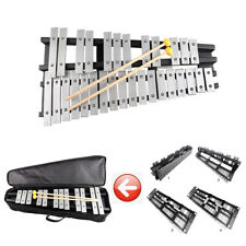 30 Note Xylophone Glockenspiel Foldable Percussion with Mallets & Bag Case Set