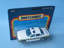 Matchbox Jaguar XJ6 Police Car Met Essex 75mm Toy Model Car in BP