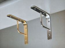 Imof Shelf Bracket a Team 20 cm Brass Polished for Shelves Shelf