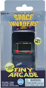 Tiny Arcade Space Invaders Brand New Sealed In Pack Smallest Coolest Keychain