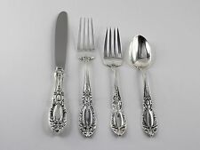 Towle King Richard Sterling Silver 4 Piece Place Setting - No Monograms