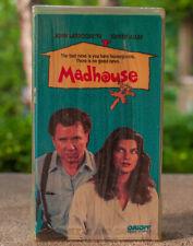 Madhouse VHS 90s Comedy Kirstie Alley John Larroquette 1990 Original Release oop