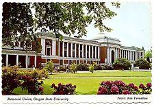 Oregon State University Postcard Memorial Union OSU Corvallis Unposted Vintage