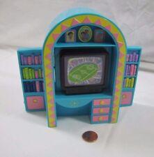Dora the Explorer Talking Dollhouse MEDIA CENTER TV CONSOLE Flips to DESK Rare!
