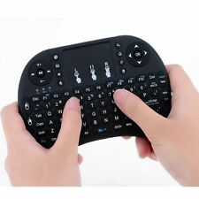 2.4G Mini Wireless Fly Air Keyboard Mouse Qwerty Touchpad for Android TV BOX PC