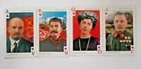 54 Russian Soviet USSR Leaders Politic Playing Cards Souvenir Poker Deck NEW