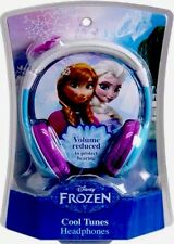 DISNEY FROZEN COOL TUNES KIDS HEADPHONES ELSA & ANNA MOVIE