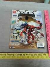 Brickmaster Magazine Bionicle Pirates Power Miners Lego January 2009