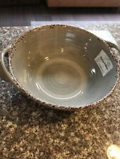 Tommy Bahama Melamine New Handled Serving Bowl Taupe
