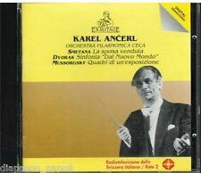 Dvorak: Sinfonia N.9; Smetana: La Sposa Venduta; Mussorgsky: Quadri. / Ancerl CD