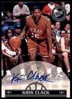 1999-00 Press Pass Kris Clack Auto