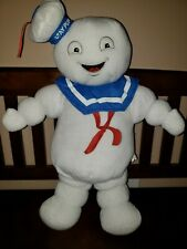 Ghostbusters Stay Puft Stuffed Animal! Pre-owned!