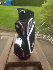 Wilson Staff Cart Bag. Black/white/red. 14 Way Divider.NEW With Tags