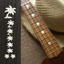 Palm Tree Fret Markers In MOP Theme Inlay Sticker Decal For Ukulele