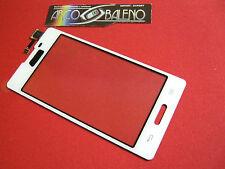 Kit VETRO + TOUCH SCREEN per LG OPTIMUS L5 2 II E460 per DISPLAY LCD BIANCO New