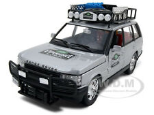 RANGE ROVER SAFARI EXPERIENCE SILVER 1:24 DIECAST MODEL CAR BY BBURAGO 22061