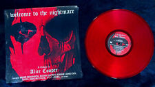 WELCOME TO THE NIGHTMARE - A Tribute To Alice Cooper Red Vinyl LP