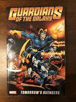 Guardians Of The Galaxy Volume 1 Tomorrow's Avengers Marvel TPB Unread