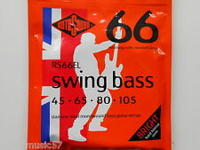 Rotosound 4 & 5 Strings Swing Bass Guitar Sets - Roundwound All Gauges & Lengths