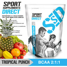 500G TROPICAL PUNCH BCAA 2:1:1 - BRANCH CHAIN AMINO ACID 1 X 500G