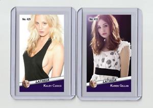 Karen Gillan rare M Latakia #'d 3/3 Tobacco card no. 433