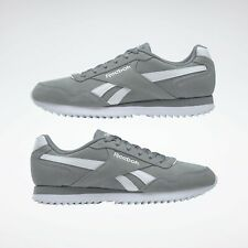 Reebok Men's Classics Royal Glide Ripple Grey Trainers Shoes Sneakers CN4044