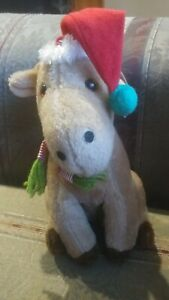 "Liberty toy CO. INC  christmas reindeer plush  9"""