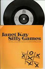 "7"" SINGLE - Janet KAY - Silly Games / A Trivial Pursuit-Just a Groove"
