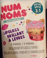 NEW! 1x Num Noms SERIES 3 (3.1)~ SCENTED NUM & LIPGLOSS Or STAMP NOM