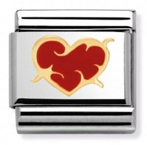 Nomination CLASSIC Gold Love Heart With Thorns Charm 030253/39 rrp £22