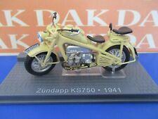 Die cast 1/24 Modellino Moto Zundapp KS750 1941