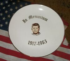 JOHN F. KENNEDY Memorial Plate-Colectible