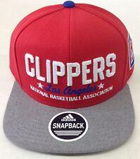 hot sale online f3c9a 9b134 adidas X NBA La Clippers Snapback Hat Mens