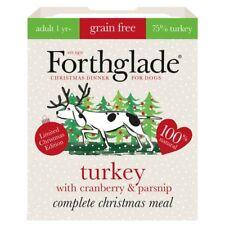 Forthglade Dog's Christmas Dinner Grain-Free 395g Turkey/Cranberry/Parsnip/NEW