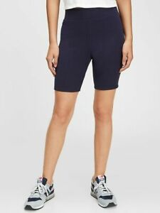 Gap Lounge Bike Shorts Gap Love Women's Ribbed Shorts Leggings Navy NWT