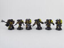 6 x Auserkorene - Chosen der Chaos Space Marines - bemalt -