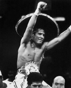 Former Boxing Champion JULIO CESAR CHAVEZ Glossy 8x10 Photo Print Poster