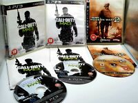 PS3 Call of Duty Bundle - Manuals included